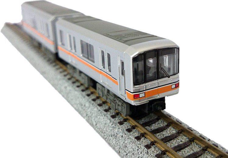 東京地鐵電車模型銀座線01系/890元。圖/台隆手創館提供