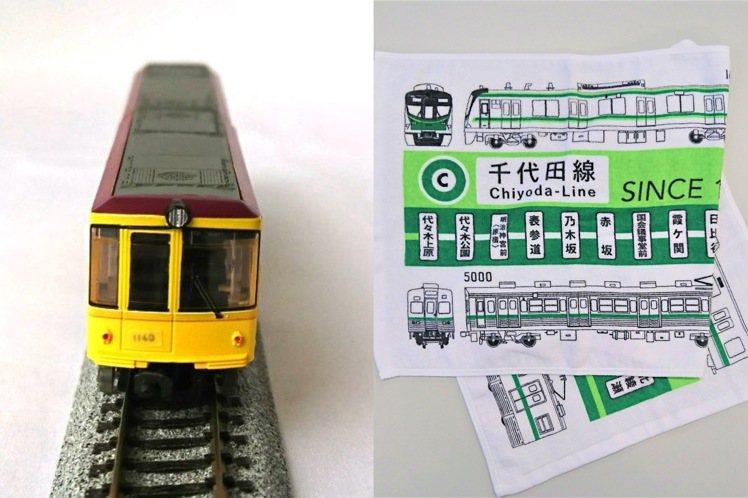 台灣也買得到東京地鐵的系列商品。圖/台隆手創館提供