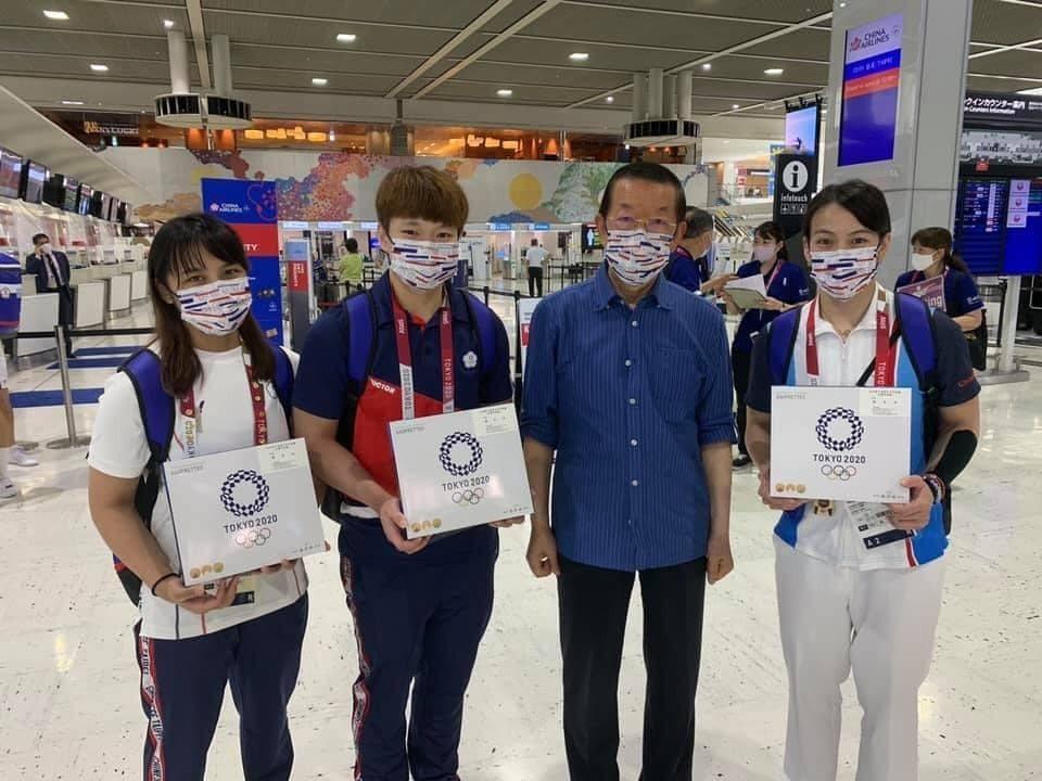 圖/取自謝長廷臉書