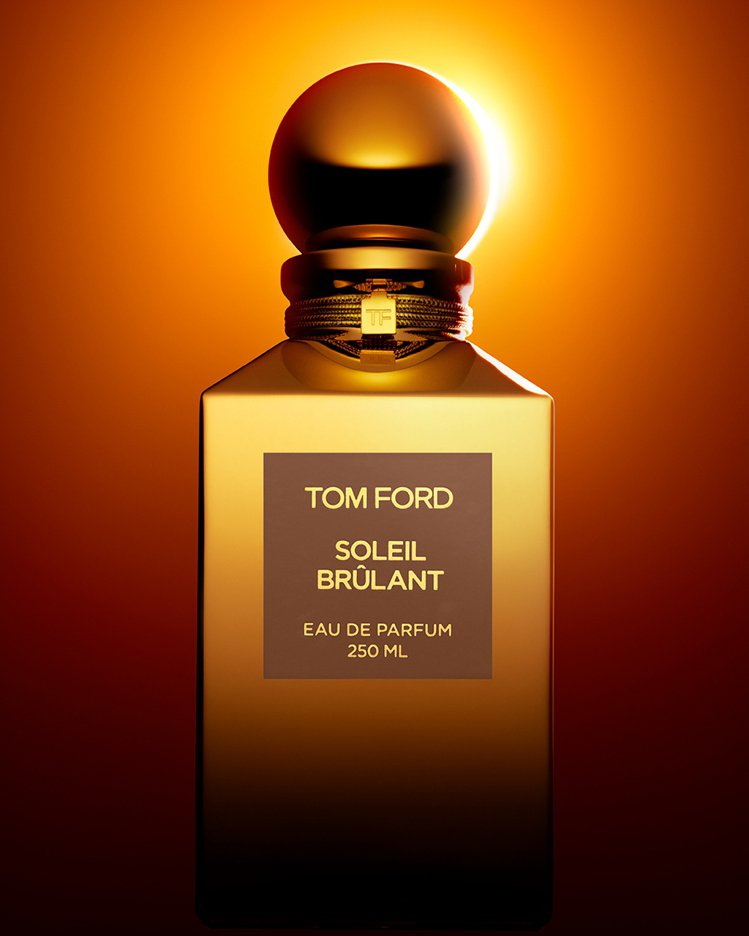 TOM FORD「Soleil Brûlant」中性香水已於7月上市。圖/TOM...