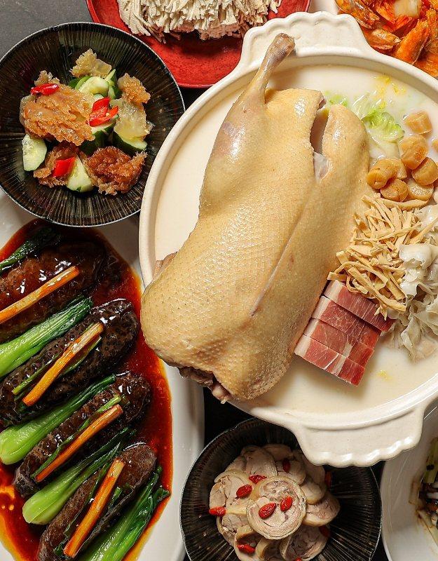 海派私房宴。 台北晶華/提供