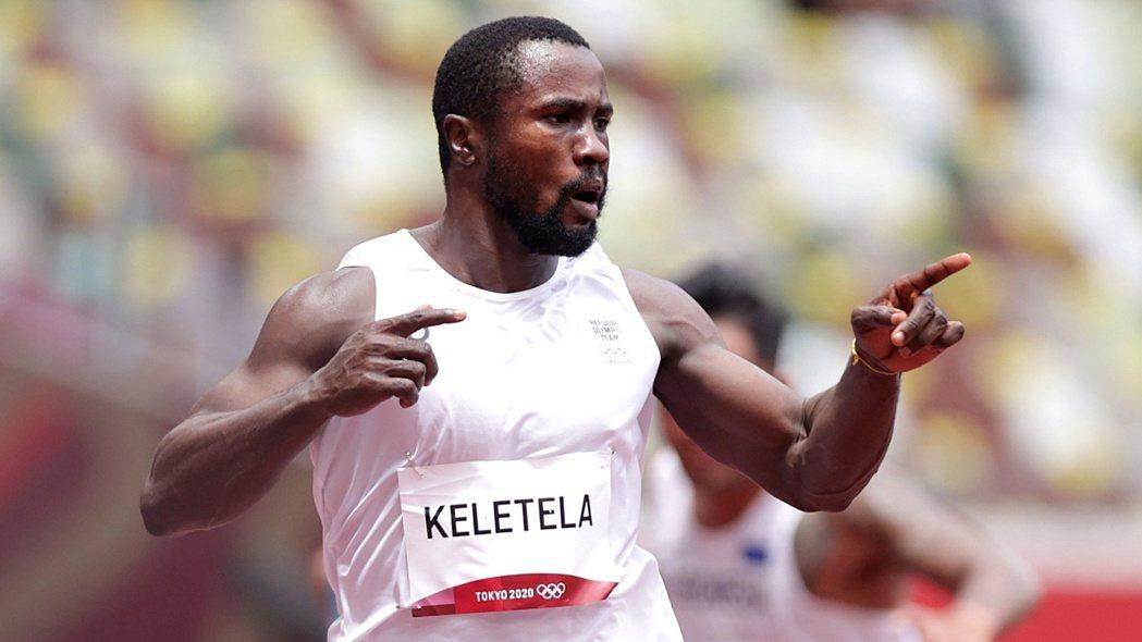 難民代表隊的科勒特拉(Dorian Keletela)以10秒33的個人最佳成績
