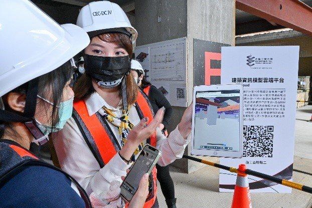 大陸工程在南港機廠公共住宅工務,展現多項營造科技應用技術(欣陸投控/提供)