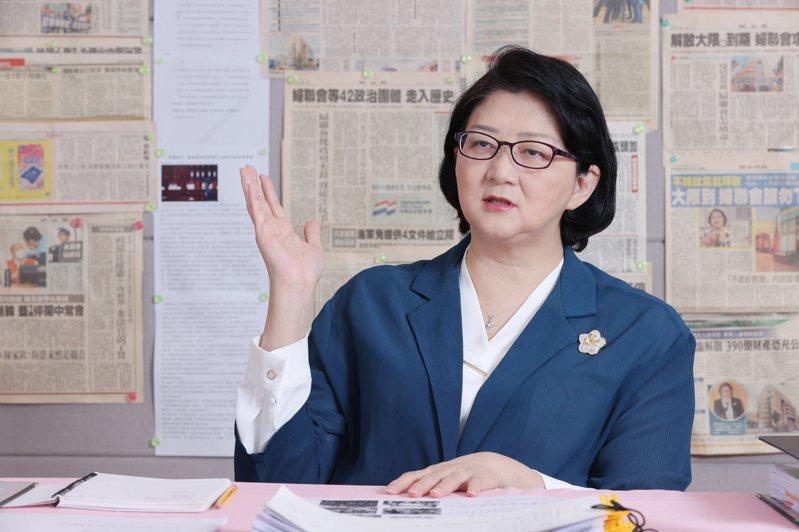 婦聯會美齡樓被移轉國有,主委雷倩表示,無法接受最高行政法院的違憲違法裁定,更不會向行政濫權的黨產會低頭。記者許正宏/攝影