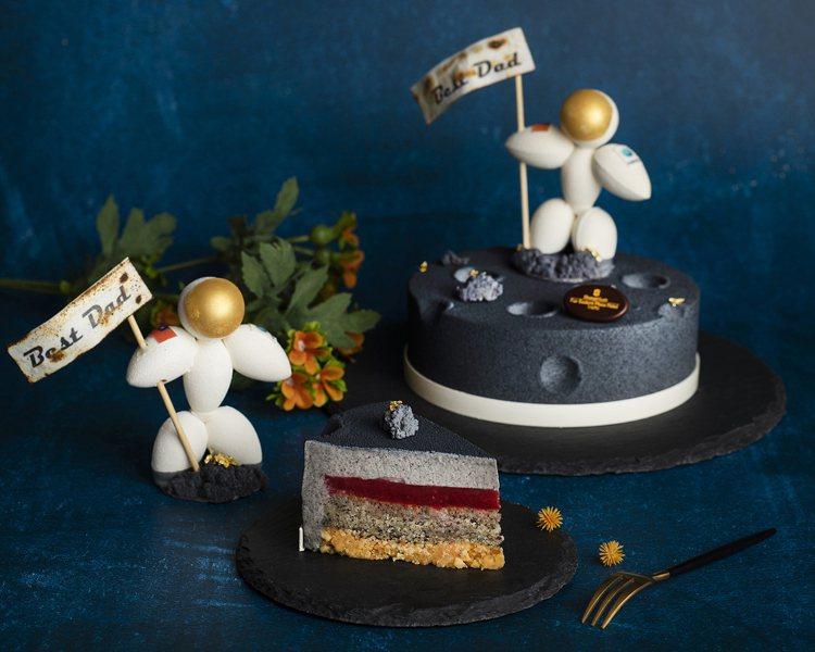 台北遠東香格里拉推出父親節期間限定蛋糕「太空老爸」。售價1,380元。圖/台北遠...