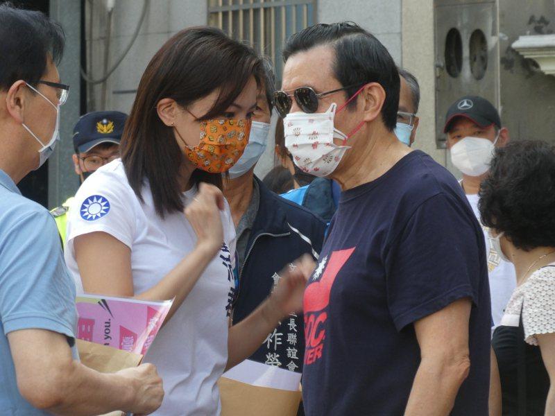 馬英九表示,他對新主席的期許就是要「把這個黨搞好」。記者周志豪/攝影
