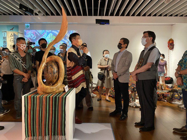 「ita/kita一起得力量,我們!」特展主題中的ita/kita在台灣許多原住民族及南島語族國家中都是「我們」的意思。記者葉冠妤/攝影