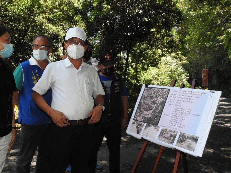 仁愛鄉合作村將恢復賽德克族「德鹿谷」村,縣長林明溱也爭取投85縣道修復,作為正名賀禮。圖/南投縣政府提供