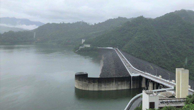 曾文水庫蓄水率已近7成。圖/南水局提供