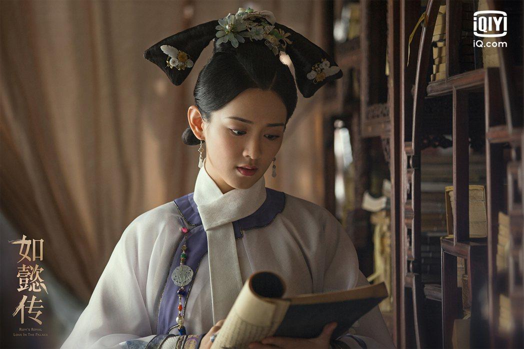 「如懿傳」飾演舒妃陳昊宇和施柏宇合作新戲。圖/愛奇藝國際站提供