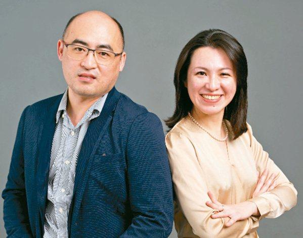 台灣納諾帕瑪公司技術長楊閎蔚(左)與執行長林芷瑋。台灣納諾帕瑪公司/提供