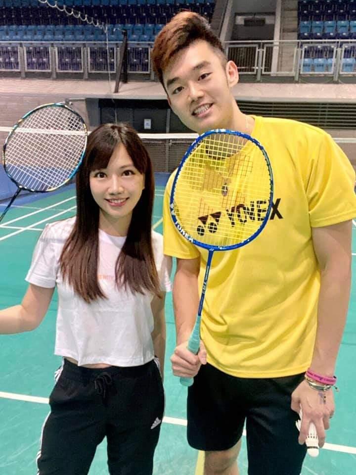 蔡尚樺是王齊麟的小徒弟。圖/摘自臉書