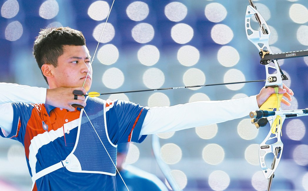 湯智鈞在東京奧運男子個人銅牌戰惜敗,但仍創下男子最佳的第四名。特派記者余承翰/東...