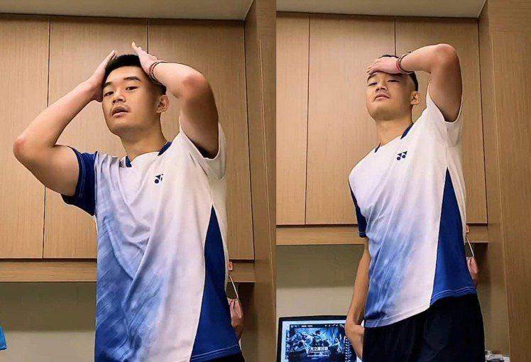 王齊麟時常在社群平台貼出自拍帥照。圖/摘自臉書