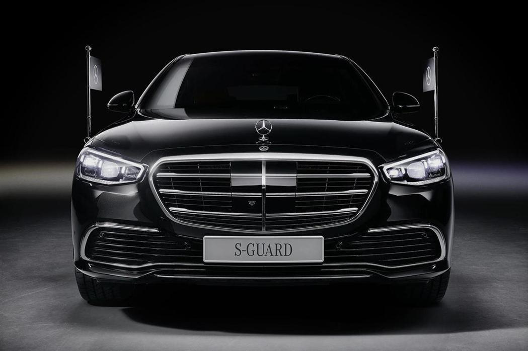 Mercedes-Benz S680 Guard 4Matic將成為各國元首或頂...