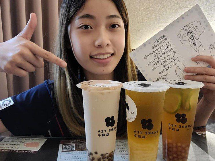 19歲的羅嘉翎首登奧運奪下銅牌,返台隔離時特別於臉書分享了自己於歇腳亭愛喝的飲料...