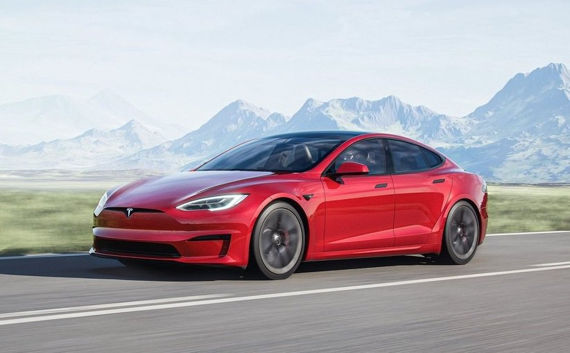 Tesla Model S Plaid。 摘自Tesla