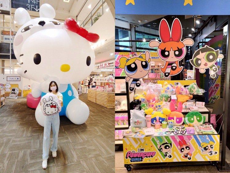 環球購物中心即日起至8月29日推出「YOSISTAMP呦嘻百分百 X 三麗鷗家族...