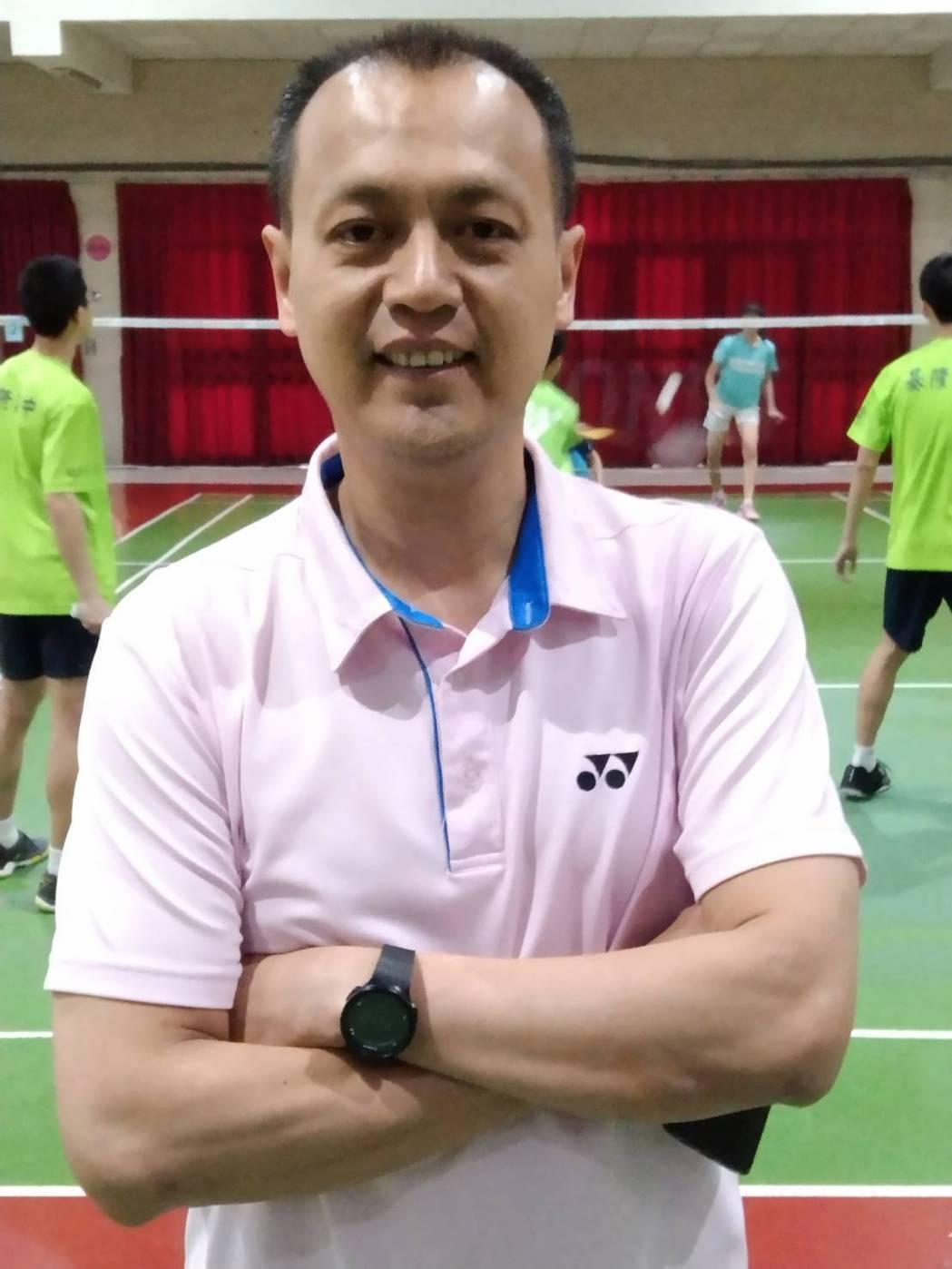 基隆高中羽球教練鄭永成。圖/聯合報系資料照片