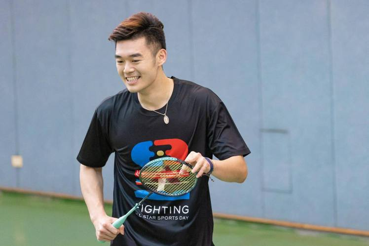 王齊麟打從心底熱愛羽球。圖/摘自臉書