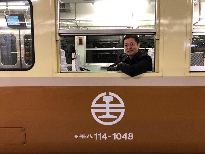 新任國家鐵道博物館籌備處主任鄭銘彰。圖/文化部提供