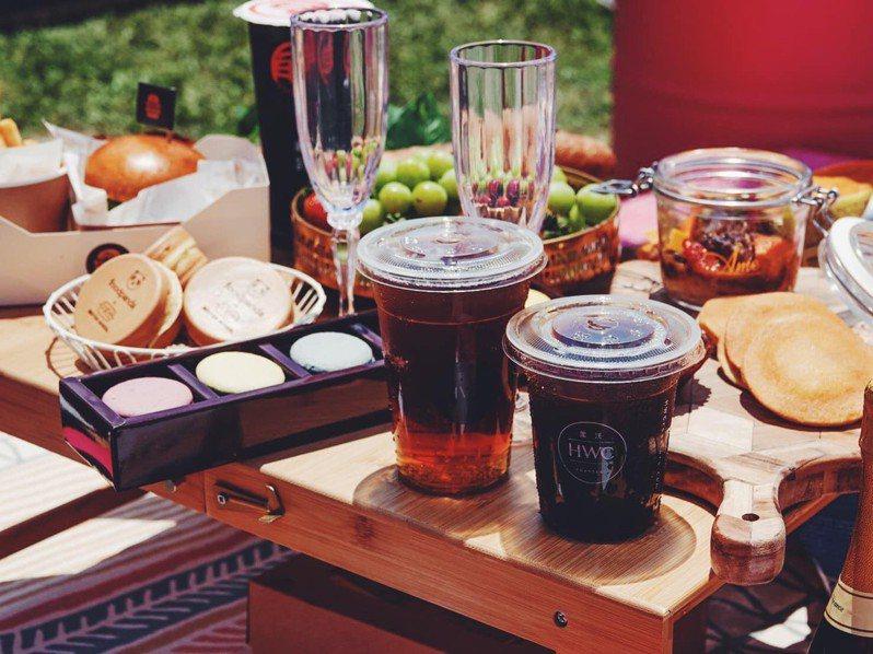 黑沃咖啡將在東奧閉幕後,免費送出獨家「黑金咖啡」。圖/黑沃咖啡提供。