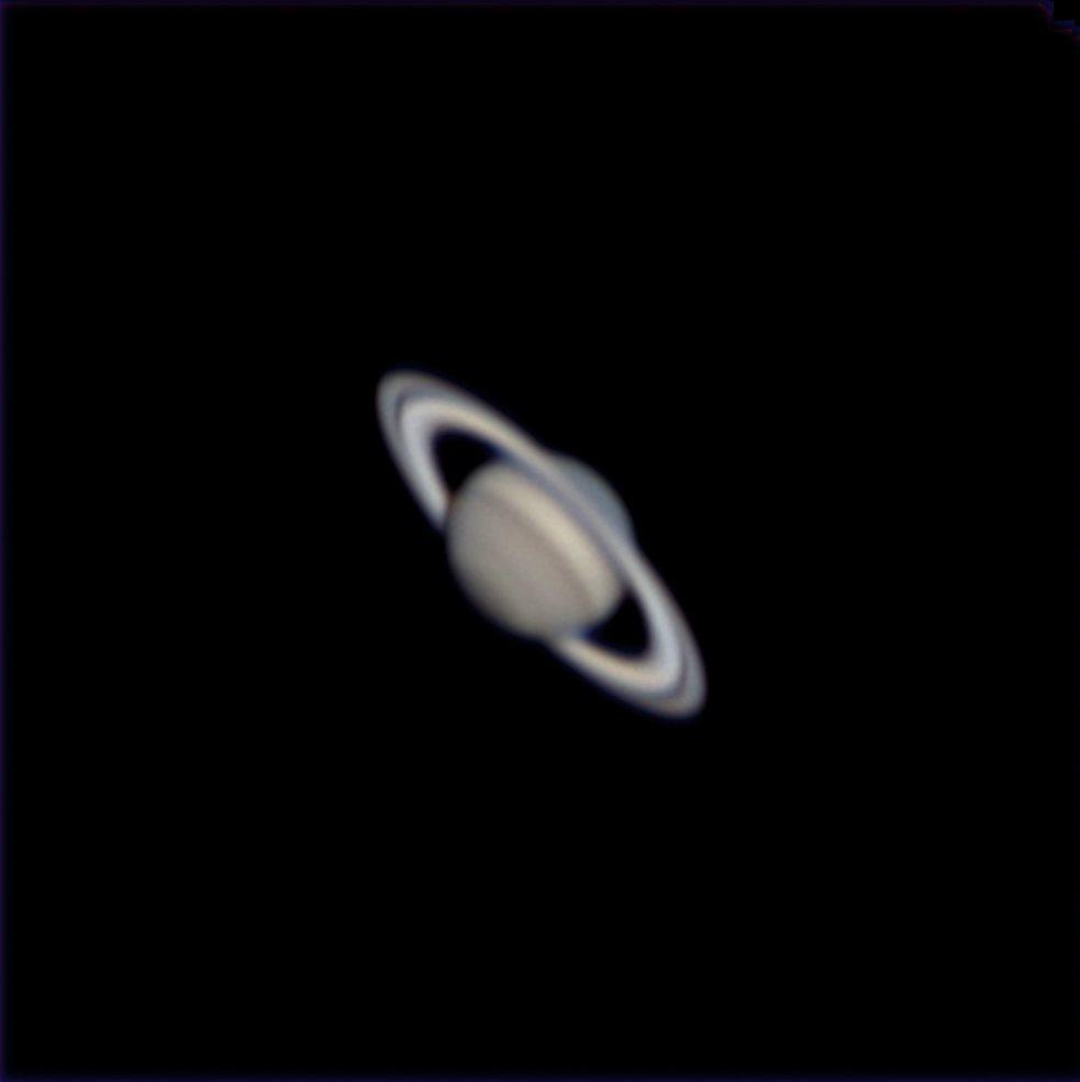 「土星衝」要來了!南瀛天文館明晚線上直播。圖/南瀛天文館提供
