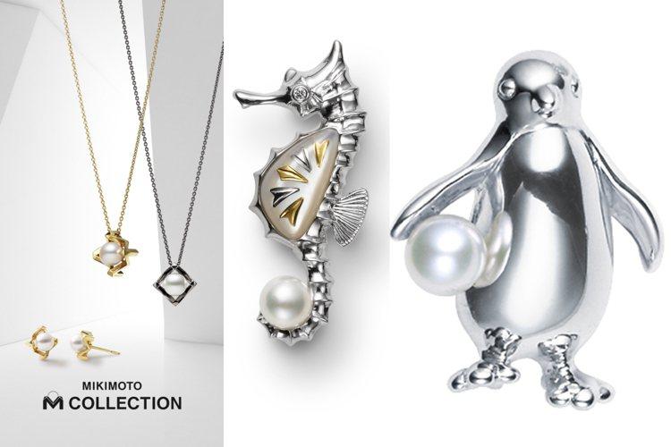 父親節將至,MIKIMOTO推出超級適合型男帥爸的珍珠珠寶。圖/MIKIMOTO...