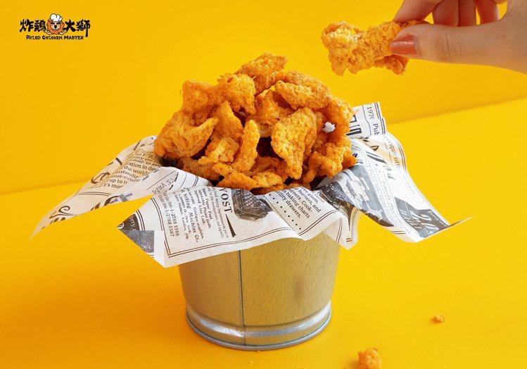 搖滾雞皮餅乾選用國產雞胸部位的雞皮製作而成。圖/炸鷄大獅提供