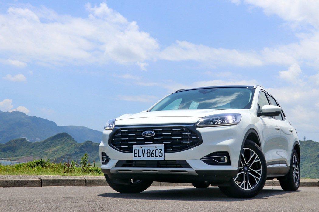 Ford Kuga EcoBoost 180旗艦X將會是家庭客層在110萬以內的...
