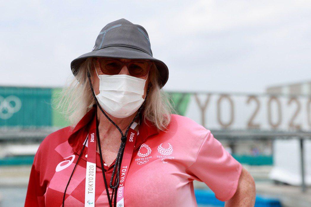 Kimberly Daniels為奧運首名跨性別裁判。 圖/路透社