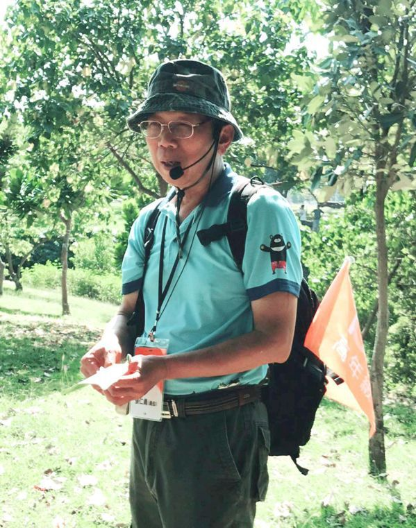 張仁勇自警職退休後,在國家公園當導覽志工,開啟他人生第二春。 圖/張仁勇提供