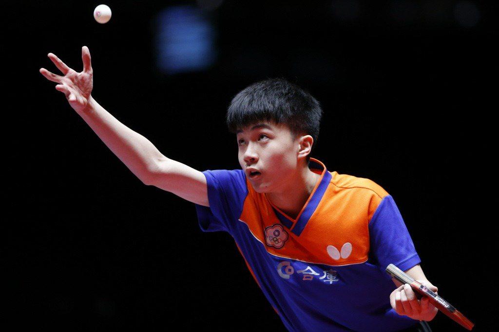 2018年參加世界桌球錦標賽的林昀儒。 圖/新華社
