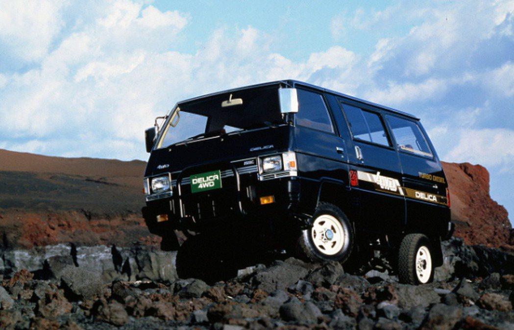 1986 第三代Mitsubishi Delica。 摘自Mitsubishi