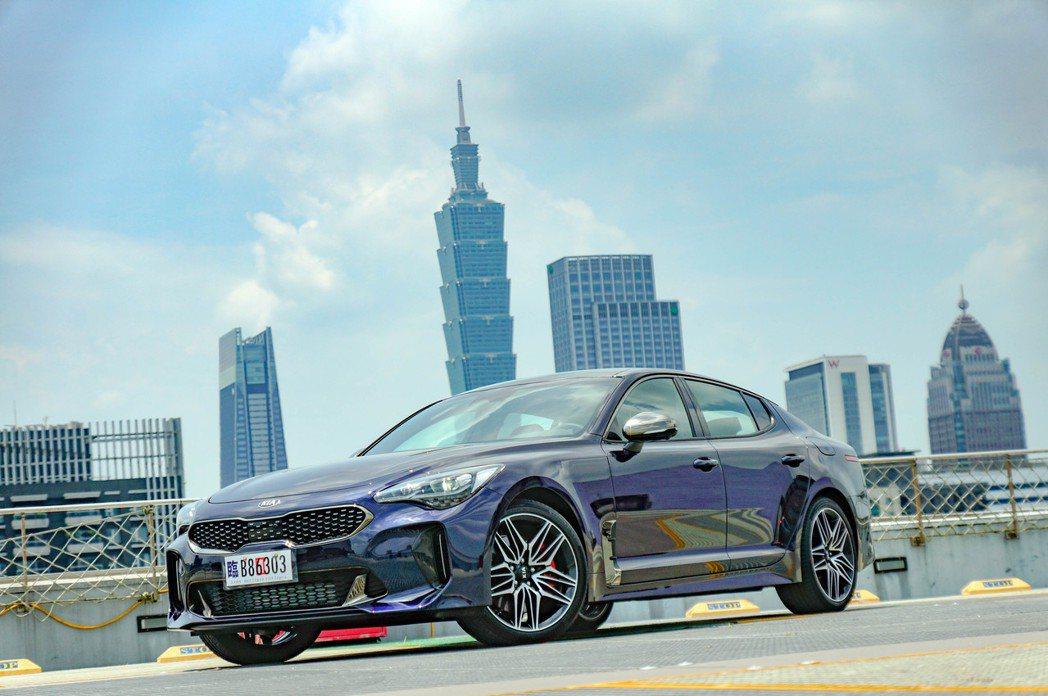 韓系車已車底歐化,Kia Stinger GT的產品本質相當出色。 記者趙駿宏/...
