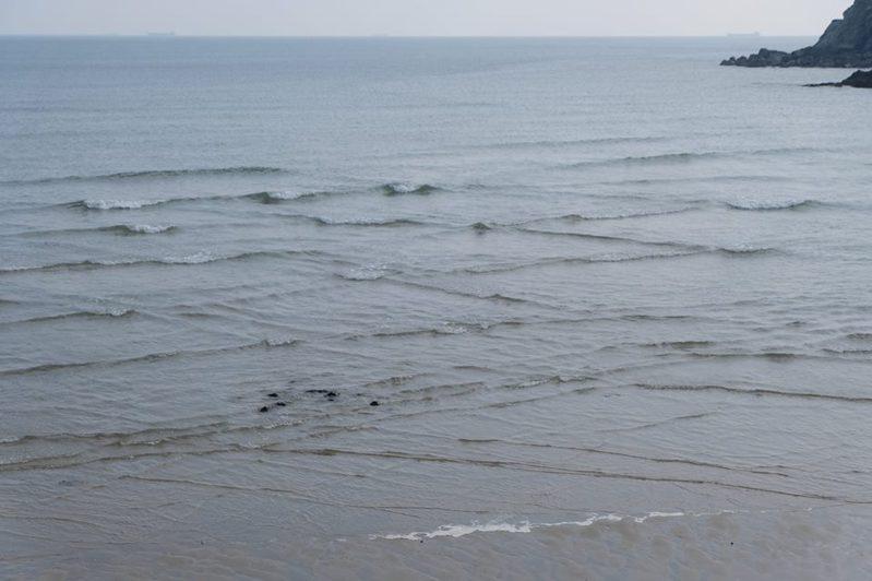 奇景「方塊海」罕見,也被稱為「上帝轉動的方塊」。圖/連江縣交通旅遊局提供