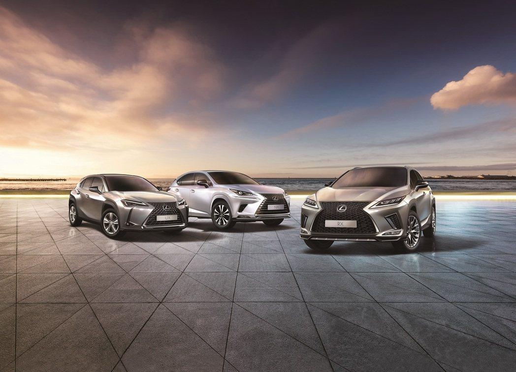 Lexus7月掛牌達2,279台,強勢奪下豪華車品牌冠軍王座。 Lexus/...
