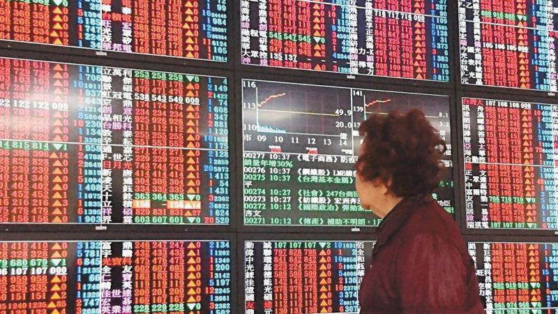 台股示意圖。 聯合報系資料照片/記者林俊良攝影