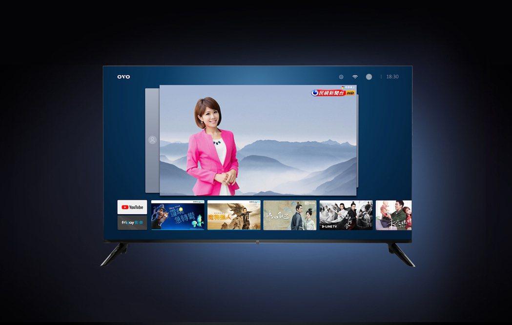 OVO QLED 量子電視,內建 OVO TV OS 系統。串流頻道、影音 AP...