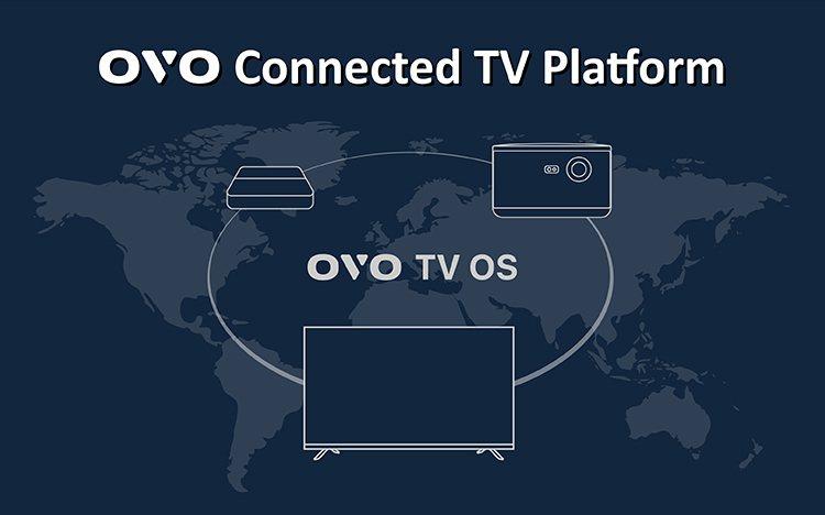 OVO 繼電視盒、智慧投影機後,宣布推出聯網電視平台終極產品:QLED 量子電視...