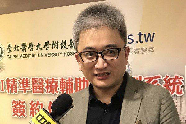 台灣人工智慧實驗室創辦人杜奕瑾。圖/報系資料照