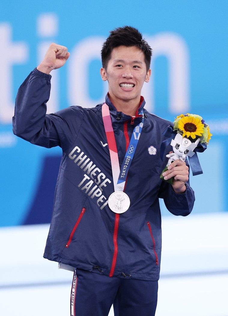 李智凱在東京奧運鞍馬為台灣拿下體操史上第一面獎牌。 聯合報特派記者余承翰/東京攝...