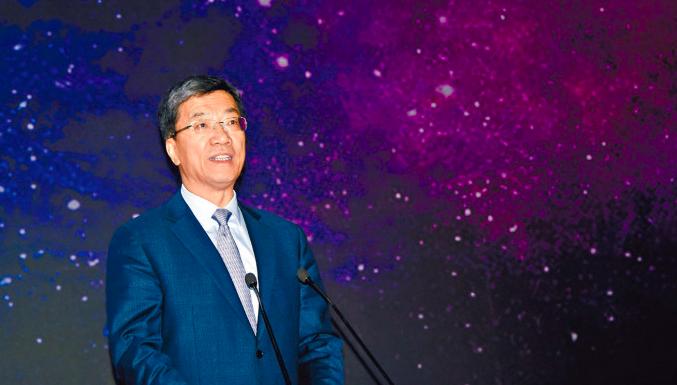 中國科學院院士、曾任北京航空航天大學校長的懷進鵬,即將接任大陸教育部長。(星島網)
