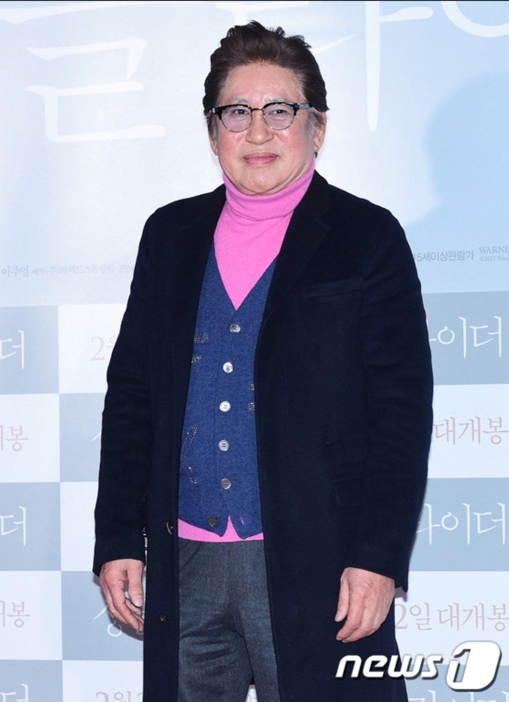 金容建是韓國知名演員。圖/摘自news1
