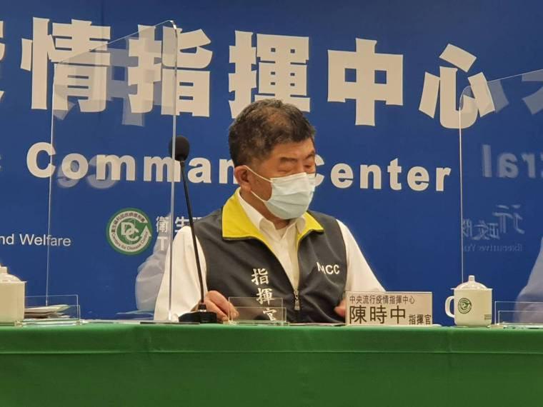 中央流行疫情指揮中心指揮官陳時中 。記者楊雅棠/攝影