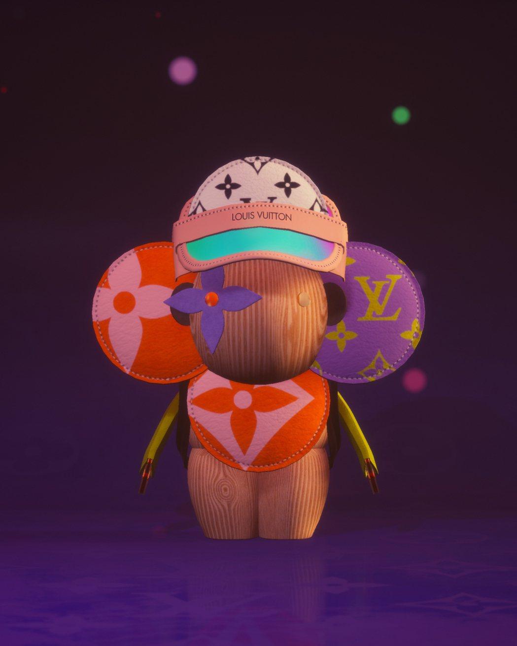 路易威登吉祥物Vivienne是電玩遊戲《LOUIS:The Game》主角。圖...
