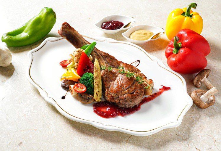 神旺大飯店推出西式套餐「主餐吃到飽」的限時優惠。圖/神旺大飯店提供