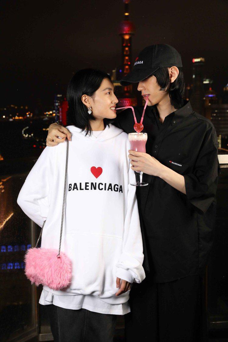 BALENCIAGA七夕情人節系列。圖/BALENCIAGA提供