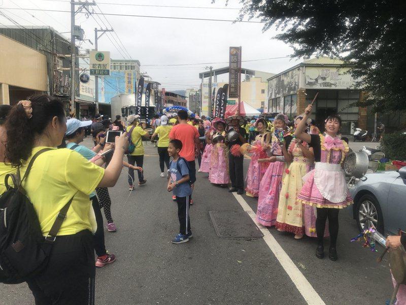 田中馬拉松被譽為最有人情味的賽事,今年因疫情不穩定,宣布改為線上舉行。本報資料照片