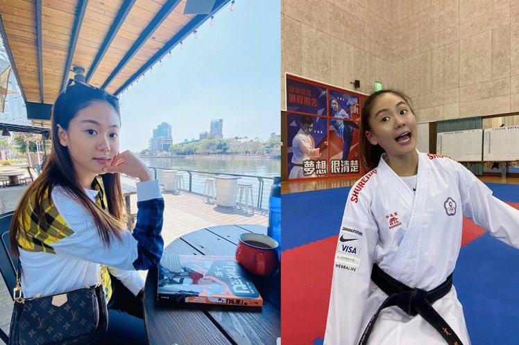 不同於比賽時的霸氣,一頭長髮貌似鍾瑶的外型,也為文姿云贏得了「小清新」、「空手道...
